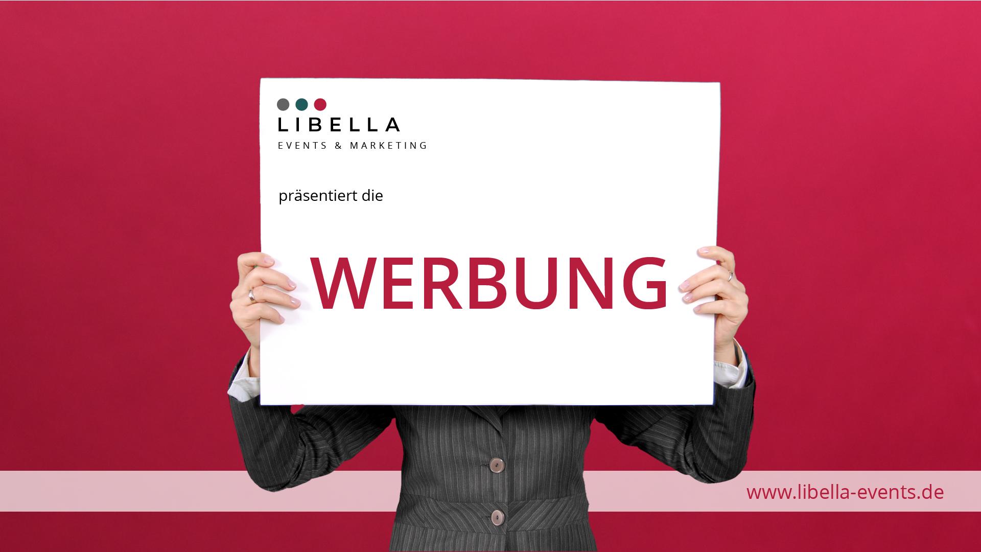 Libella Events & Marketing präsentiert Bildschirmwerbung